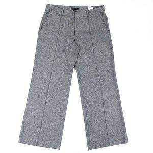 Banana Republic Dress Pants Pleated Gray Wide Leg